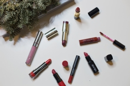Holiday Lipsticks