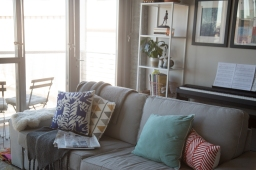Mini Living Room Makeover