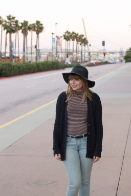 OOTD: Stripes and Hats
