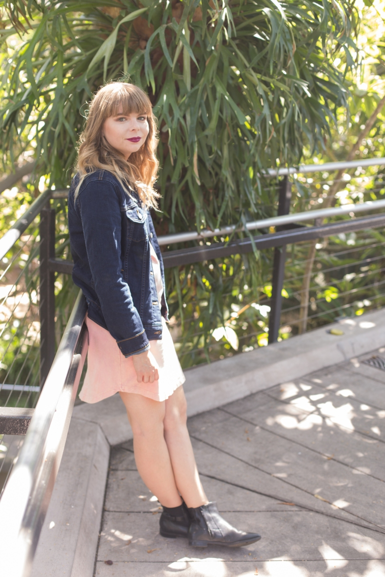 blush pink dress-1
